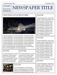 Newspaper Book Report Template Newspaper Template Awesome Make A Family Newspaper
