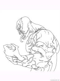 Trend venom coloring pages 93 in coloring books with venom. Venom Coloring Pages Cartoons Venom 8 Printable 2020 6882 Coloring4free Coloring4free Com