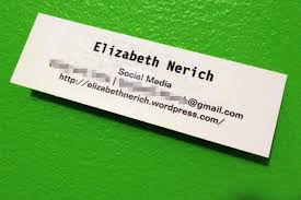 Graduate Business Cards Letters New Ou Msu Student