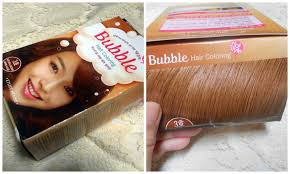the etude house bubble hair dye in natural brown 3