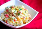 Вкусный салат из крабовых палочек классический
