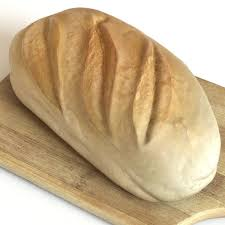 3d Model White Bread Loaf Cgtrader
