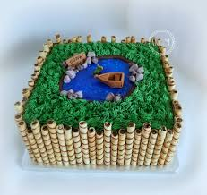 Grooms Cake With A Fishing Theme My Cake Sweet Dreams Facebook