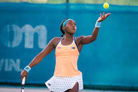 "WTA Abu Dhabi: Cori ""Coco"" Gauff zahlt ..."