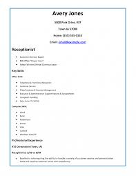 Sample Resume For Medical Receptionist With No Experience Medical Receptionist Resume Sample Front Office Fantastic Manager HD 15