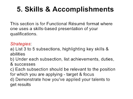 Accomplishments Resume Sample Doc bestfa tk