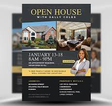 Home Flyers Template Open House Flyer Template 2 Flyerheroes