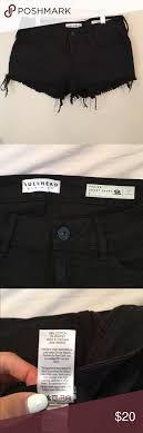 Bullhead Black Denim Shorts Size 24 Bullhead Black Denim