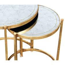round mirrored side table coffee end tables target with drawer