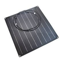 Online Shop 20W ETFE Solar Panel Flexible <b>MonoCrystalline</b> ...
