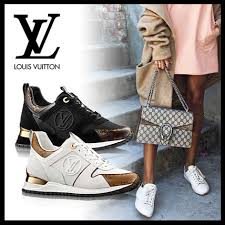 louis vuitton sneakers. louis vuitton monoglam plain toe casual style suede street sneakers