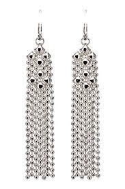 liquid metal by sergio gutierrez earrings e31 n sg sg pouch included chrome finish