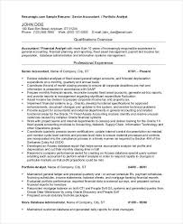 Tax Accountant Resume Gorgeous Resume In Word Format For An Accountant
