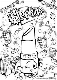 Shop Kings Kleurplaat Ausmalbilder Shopkins 09 Kostenlose