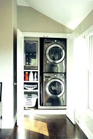 stackable washer dryer cabinet washer dryer cabinet closet depth stackable washer dryer for small closet dimensions needed for stackable washer dryer closet