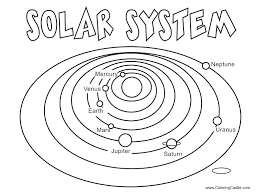 Coloring Pages Space Planet Stencils Printable Solar System Coloring