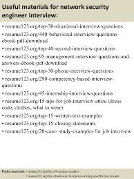 Security Engineer Sample Resume 14 Job Resume Network Samples Free