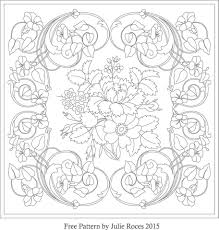 Rosemaling Patterns Free With Rosmaling Coloring Pages Homeschool