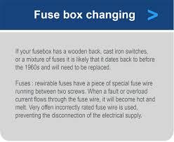 consumer unit fuse board picture