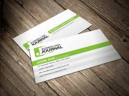 Clean And Simple Business Card Template Psd File Free Download