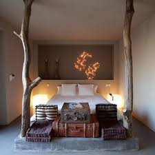 Image of: African Themed Bedrooms