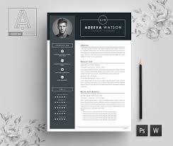 Professional Resume Template Watson By Adeevaresume Thehungryjpegcom