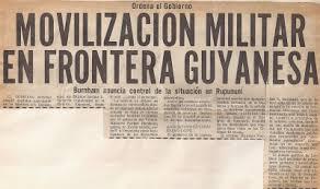 Resultado de imagen para campaña militar en Rupununi