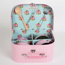 Kids Kitchen Cooking Box Set Pastel Pink Alternative Image 1