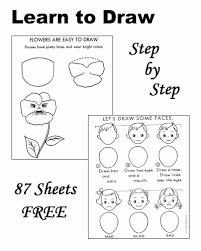 It is very useful page for those students that want to learn drawing with very easy way. Simple Drawings For Kids