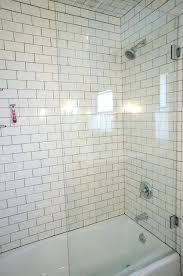 bathroom tub shower doors bathroom half glass shower door land design reference in for in half