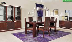 Walnut Living Room Furniture Sets Status Caprice Dining Room Set In Walnut Free Shipping Get