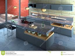 Modern Kitchen Interior Luxury Modern Kitchen Interior Stock Image Image 2750211