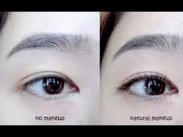 tutorial natural no makeup look
