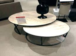 marble nesting coffee table world market nesting tables round nesting tables acrylic world market examples marble nesting coffee table