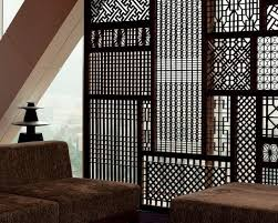 Designer Partition Boards Jali Panels In Wood Mdf Pvc And Various Other Materials