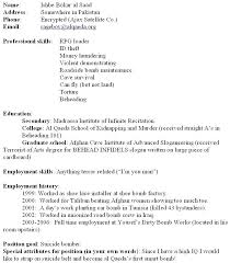 Filling Out A Resume How To Fill Out A Resumes Filling Out Resume Stunning Filling Out A Resume