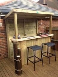 diy patio bar. Creative Patio/Outdoor Bar Ideas You Must Try At Your Backyard #ad Diy Patio Y