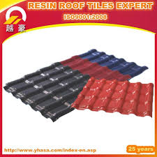 heat resistance corrugated plastic roofs tile roof sheets
