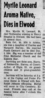Grandma Myrtle Harvey Leonard - Newspapers.com