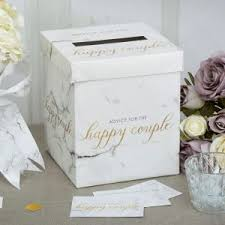 How To Decorate A Wedding Post Box Contemporary marble gold wedding decorations Neviti Blog 71