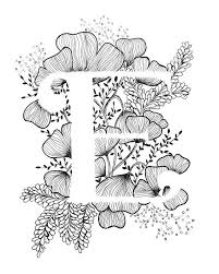 13 Letters Drawing Flower For Free Download On Ayoqqorg