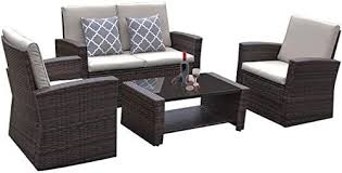 patio sofa set wicker sofa outdoor