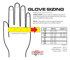 Use Care Sizing Midwest Glove