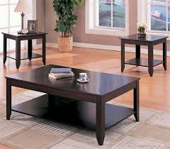 Luxurius Coffee Table and End Tables for Living Room – Coffee and
