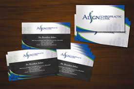 Professional Modern Marketing Business Card Design For Align