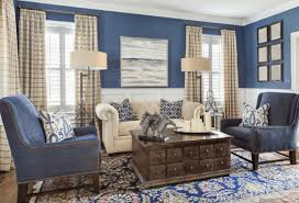 10 blue and brown living room ideas