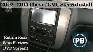 2007 2014 chevy gmc stereo install tahoe suburban yukon impala JVC Stereo Wiring Harness at 2012 Silverado Stereo Wiring Harness Available Nearby