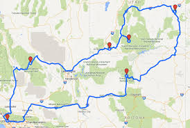 Driving Trip Planner How To Plan A Road Trip Route With Google Maps