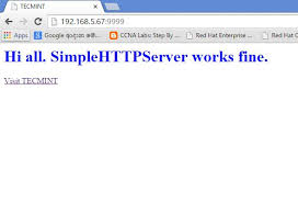 How to Use Python 'SimpleHTTPServer' to Create Webserver or Serve ...