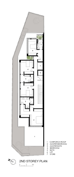 Modern 4 Bedroom House Plans 17 Best Ideas About Narrow House Plans On Pinterest Narrow Lot